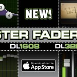 DL Seriesミキサー用iPadアプリ「Master Fader v3.0」アップデートのご案内