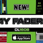 MACKIE DLシリーズミキサー iPhone、iPod touch用アプリ「MY FADER V3」公開