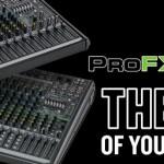 プロフェッショナルエフェクトミキサー「ProFXv2シリーズ」発売開始のご案内