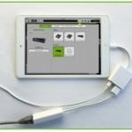 Mackie DL32RとiPadをワイヤードで接続しワイヤードでコントロールする方法