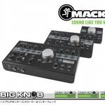 Mackie新製品 3×2ハイブリッドモニターコントローラー&オーディオインターフェースBig Knob Studio 発売開始のご案内