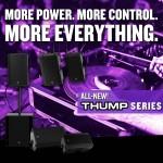 まもなく発売開始、パワードラウドスピーカー「New Thump Series」よくあるご質問