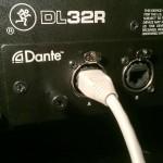 Mackie DL32R DL Dante Expansion Cardファームウェア更新のご案内