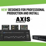 AXISデジタルミキシングシステム発売開始のご案内