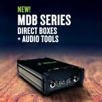 Mackie NAMM 2018新製品 オーディオツール DI BOX「MDBシリーズ」、ファンタム電源「M48」、ケーブルテスター「MTEST-1」