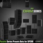 Mackieプロフェッショナルパッシブラウドスピーカー「DRM Passive Series」用スピーカープリセットデータ公開