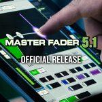 MackieデジタルミキサーアプリMaster Fader 5.1リリースのご案内