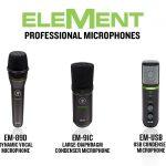 Mackie EleMentシリーズマイクロホン「EM-89D」「EM-91C」「EM-USB」を発表