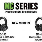 Mackieハイパフォーマンスヘッドホン「MC-350」「MC-3450」を発表