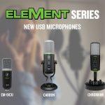 Mackieプロフェッショナルマイクロホン「ELEMENTシリーズ」、プロフェッショナルヘッドホン「MCシリーズ」ラインナップ拡充を発表