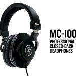 Mackie新製品ハイコストパフォーマンスプロフェッショナルヘッドホン「MC-100」発売開始
