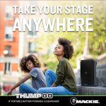 Mackie バッテリー駆動8インチ2wayポータブルパワードスピーカー「Thump GO」を発表