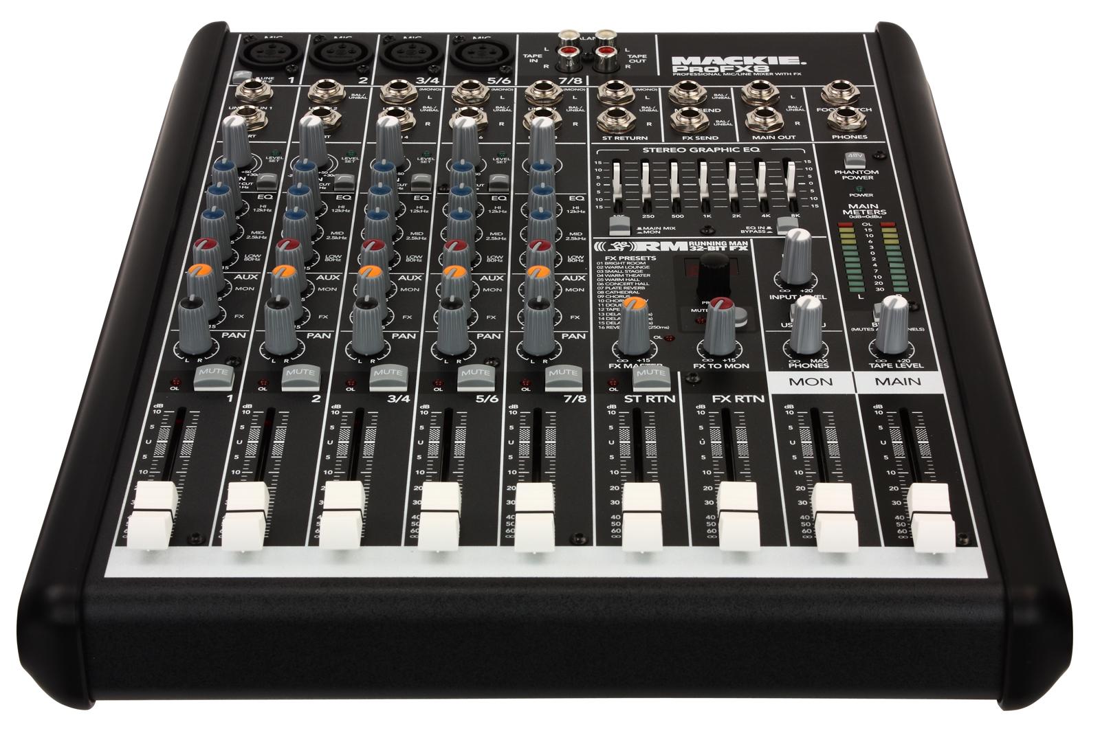 Mackie Profx8v2 8 Channel Fx Mixer Loud Technologies Profx8 V2