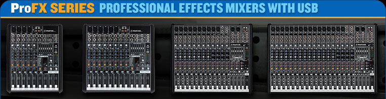 Professional effects mixer with USB