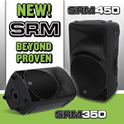 Mackie SRM Powered Loudspeakers